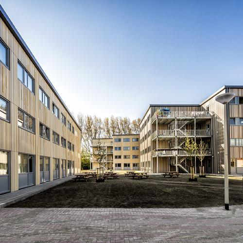 Wonen; Woonwijk gebouwd door Jan Snel