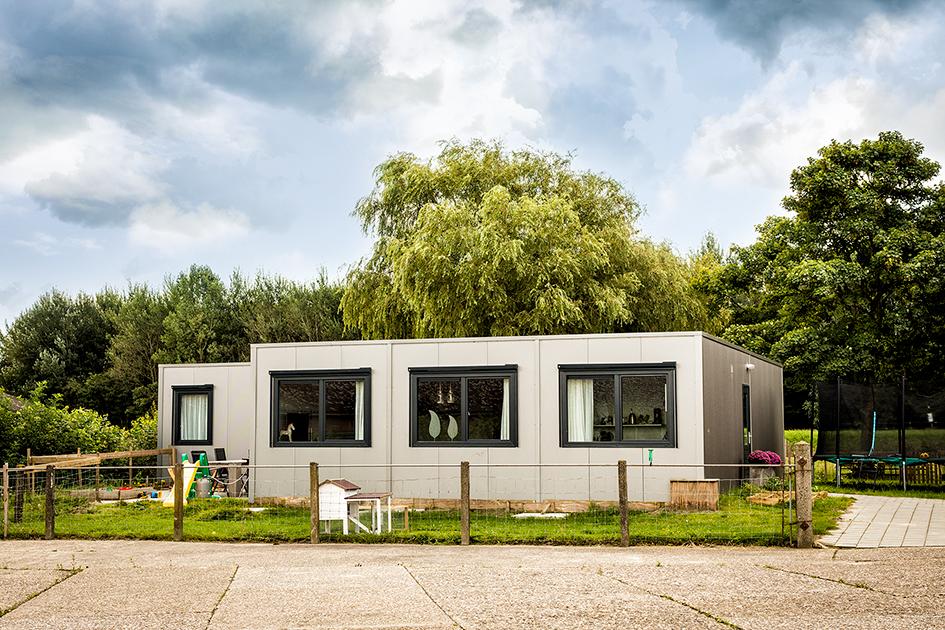 Tijdelijke woning - modulair bouwen