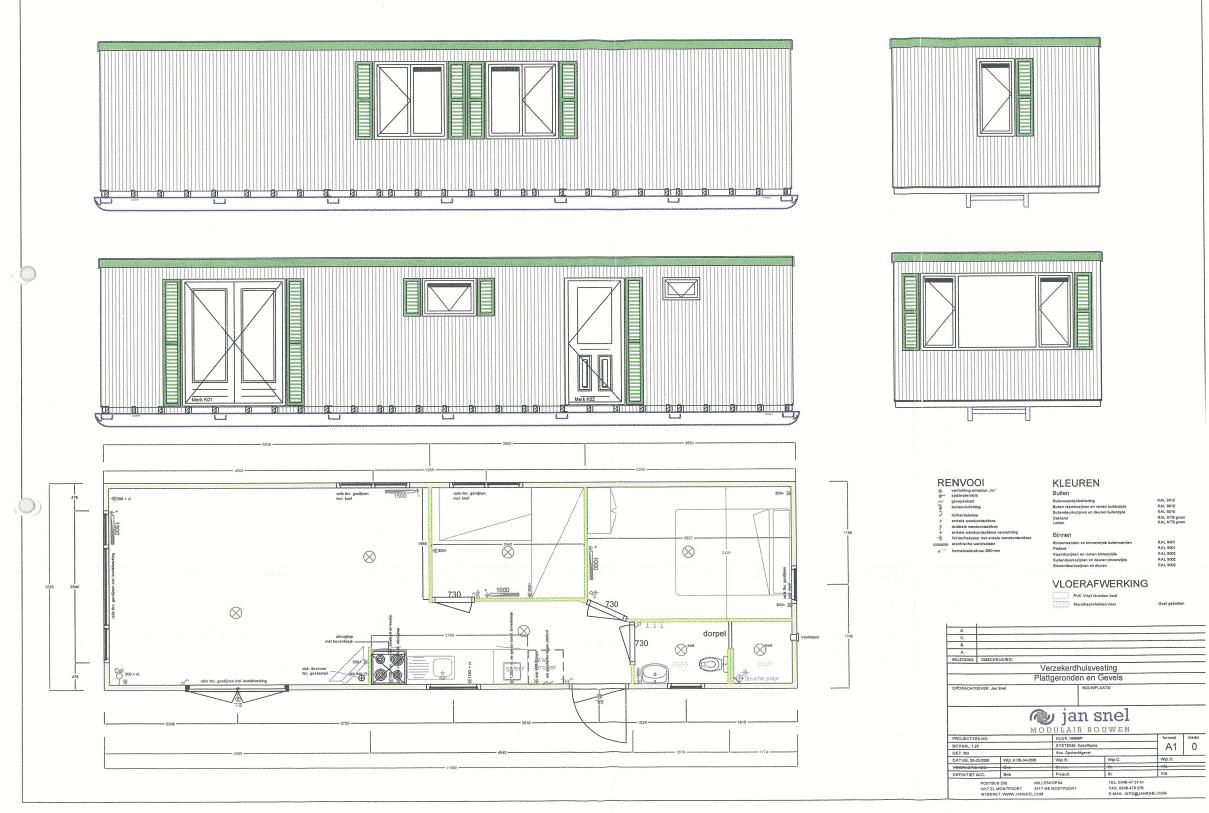 Complete woonunit van 40 m2