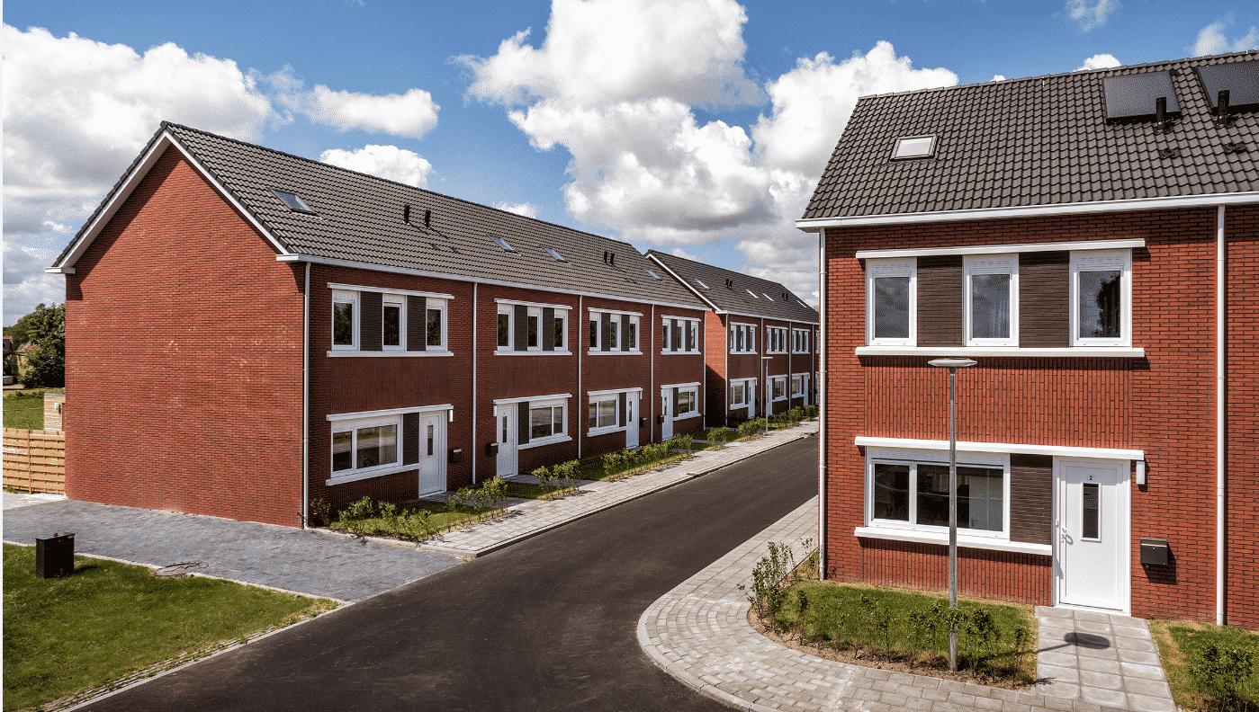 Woningen modulair gebouwd