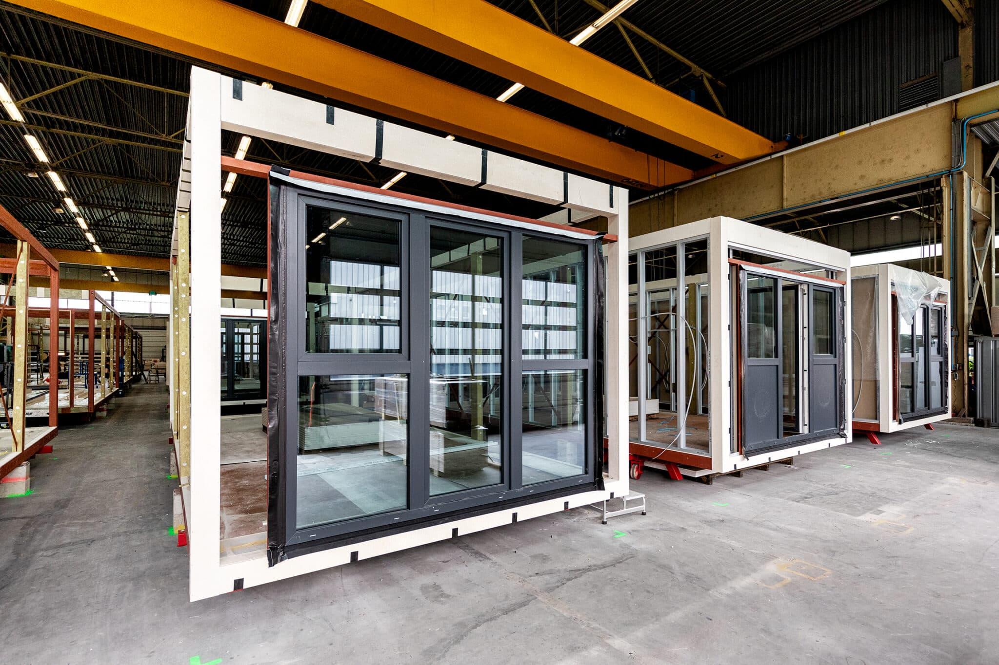 modulaire bouw